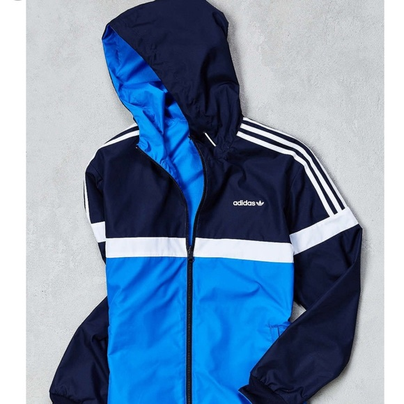 outlet on sale the cheapest stable quality 🌦New Adidas Originals Reversible Windbreaker NWT
